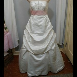 Ivory Rose Wedding Gown style #2242T
